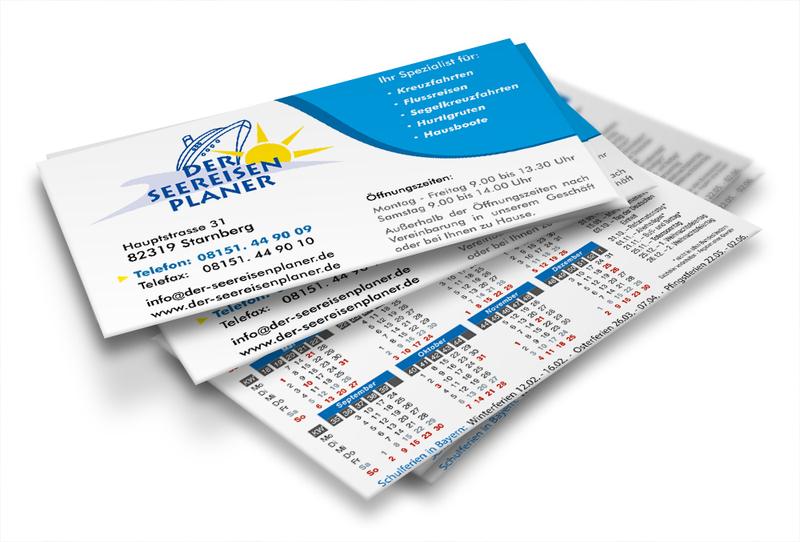 Visitenkarten Taschenkalender 2020 Msg Motion Graphics